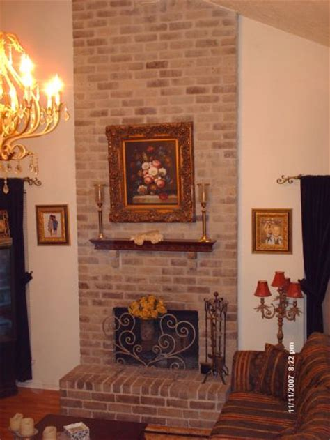 brick fireplace remodel do it yourself fireplace remodels