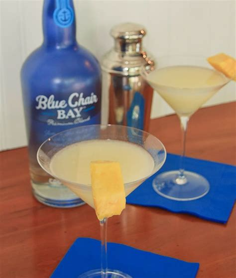 kenny chesney blue chair drink pina colada martini with blue chair bay coconut rum by