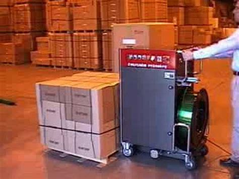 pallet strapping machine youtube