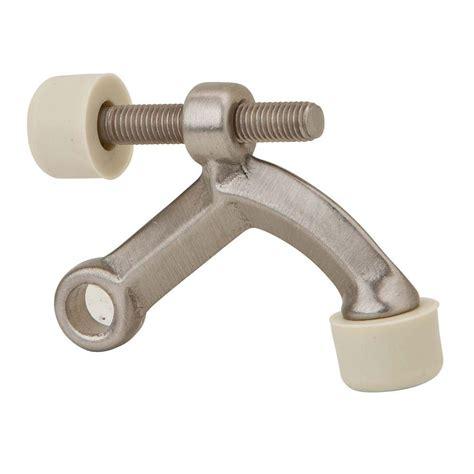 door stopper home depot schlage satin nickel hinge pin door stop sc70z 619 the