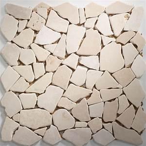 Mosaik Fliesen Beige : marmor bruch mosaik fliesen beige mb599 m ~ Michelbontemps.com Haus und Dekorationen
