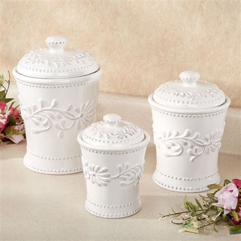 white ceramic kitchen fabulous kitchen canisters ceramic sets including cosy