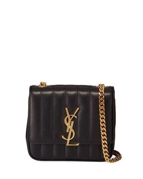 saint laurent vicky monogram ysl small quilted leather crossbody bag neiman marcus