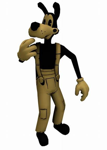 Boris Bendy Ink Machine Wolf Buddy Characters