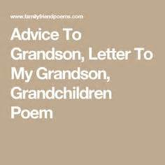 free happy birthday grandson cards grandson poem is for With letter to grandson from grandmother
