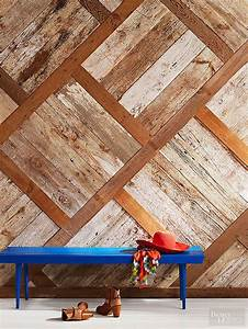1000 images about bhg39s best diy ideas on pinterest With cheap reclaimed wood wall