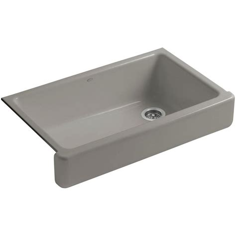 Kohler Whitehaven Sink 36 by Kohler Whitehaven Undermount Farmhouse Apron Front