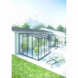 abri de terrasse en aluminium a baies coulissantes abri With abri de terrasse rideau