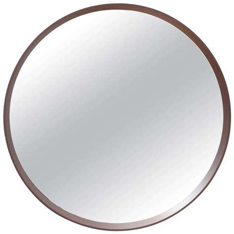 Midcentury Modern Round Mirror At 1stdibs