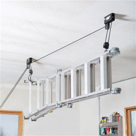 garage ceiling kayak hoist canoe kayak hoist storage system by apex discount rs