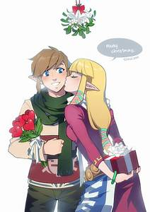 LoZ: Merry Christmas by finni on DeviantArt