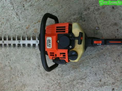 taille haie thermique stihl hs 75 images