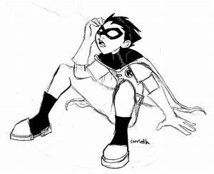 Robin Sketch by carrinth on DeviantArt