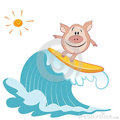 swimming pig clipart   cliparts  images