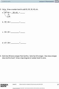Eureka Math  Grade 2  Module 4  Student File A  Contains