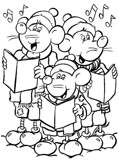 printable  christmas coloring pages coloring home