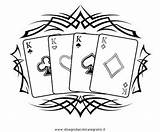Coloring Chips Poker Pages Template Getdrawings sketch template