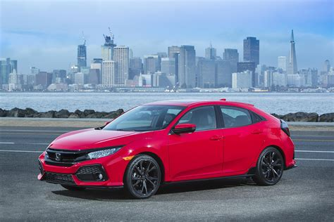 sporty hatchback joins honda civic family sfchronicle com