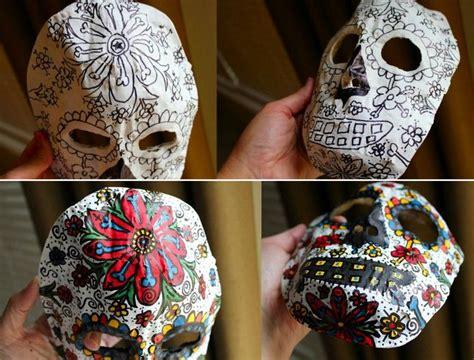 Faschingsmasken Selber Basteln by Faschingsmasken Basteln Sugar Skull Wohnideen