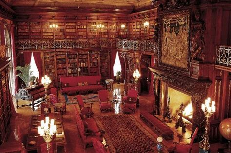 Biltmore house library photo