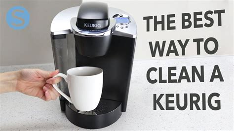 Admittedly, the vinegar brewing process will make your kitchen smell like pickles for a while, but the cleanse will. How To Best Clean A Keurig   Simplemost - YouTube