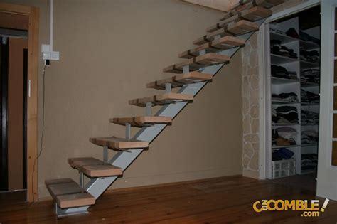 c un comble escalier droit tronc centrale m 233 tallique