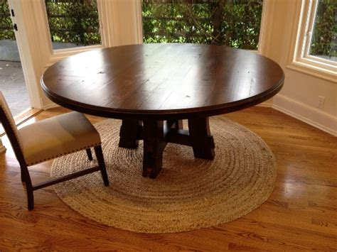 farmhouse style round dining table 50 round dining table design ideas ultimate home ideas