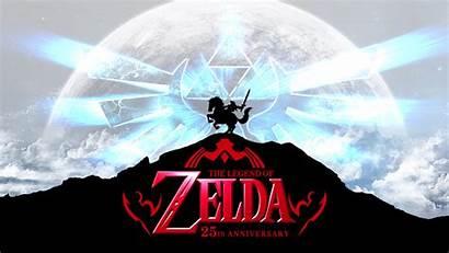 Zelda Legend Anniversary 25th Wallpapers Backgrounds 1080p