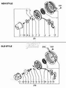 Robin  Subaru Ey20 Parts Diagram For Recoil Starter