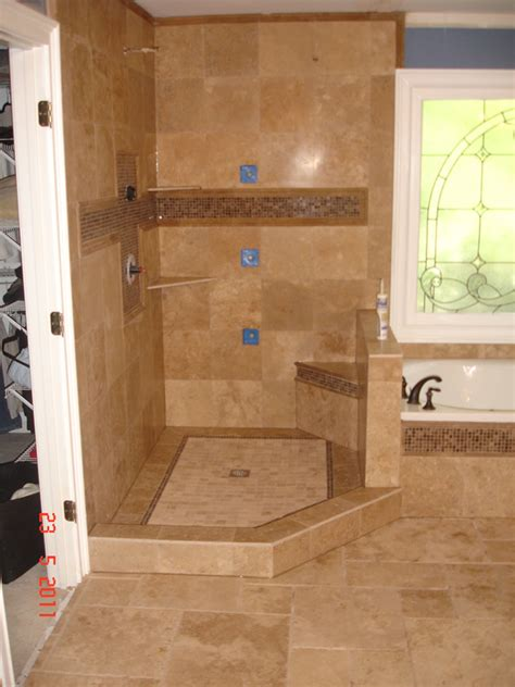 Bathroom Wall Tile Installation by Bathroom Remodeling Services