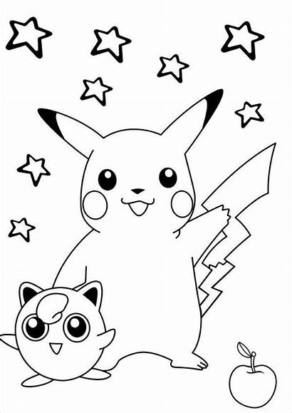 Pokemon Coloring Pages Printable Ai Psd Start