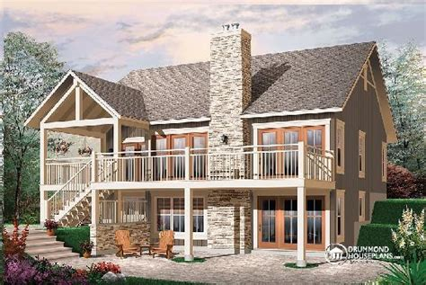 bedroom house plan  fireplace