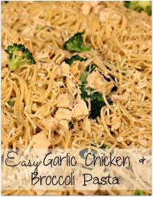 Easy Chicken and Broccoli Pasta