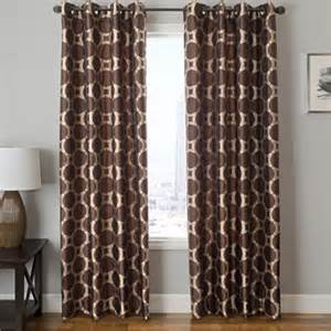 edison circle grommet top curtain panel jcpenney