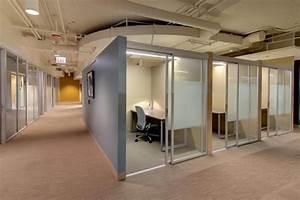 Commercial Glass Workspace Enclosures