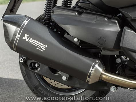 pot akrapovic xmax 400 yamaha x max 400 sport et touring les versions accessoiris 233 es scooter station