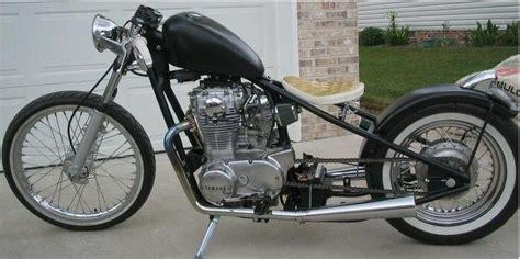 Yamaha 650 Bobber Motorcycle & Yamaha Sr400 Bobber
