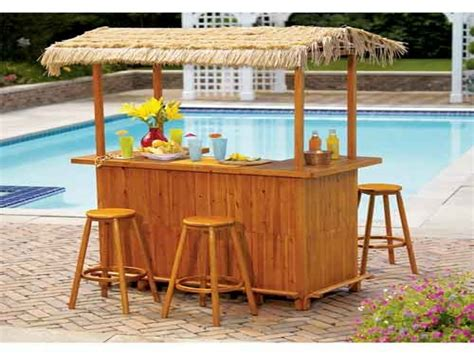 Bamboo Tiki Bar Plans by Outdoor Pond Ideas Diy Backyard Tiki Bar Outdoor Tiki Bar