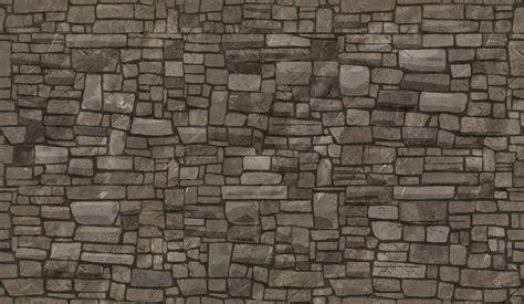 Large Flagstone Wall Texture Seamless