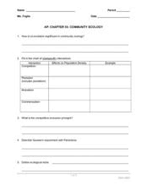 ecological succession lesson plans worksheets reviewed