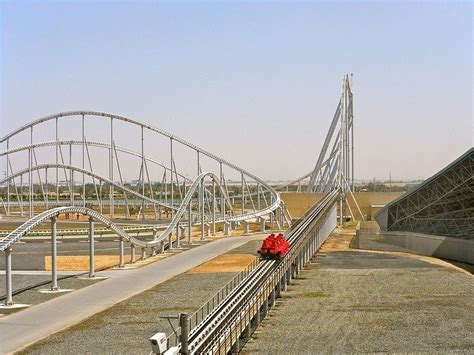 The first theme park named for the automaker is being built on over 135 acres of. Ferrari World Theme Park in Abu Dhabi | Ferrari world, Ferrari world abu dhabi, Roller coaster