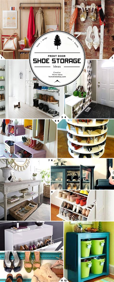 Foyer Storage Ideas by Unique Closet And Entryway Shoe Storage Ideas Home Tree