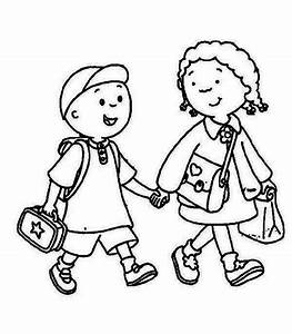 Go to school clipart in black and white - Clip Art Library