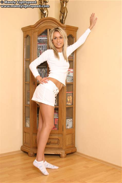 Fantastic 19 Year Old Gal In White Skirt XBabe
