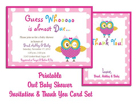 Baby Shower Place Cards Template by Baby Shower Invitations Templates Free