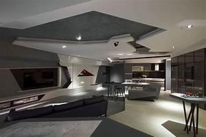 Stunning Modern Bachelor Apartment - InteriorZine