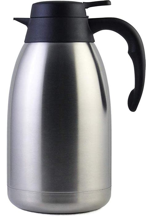 We have made a helpful guide to aid you in finding the best coffee carafe for yourself. 68 Oz Stainless Steel Thermal Coffee Carafe/Double Walled Vacuum Thermos / 12 Hour Heat ...
