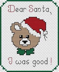 a letter to santa free cross stitch