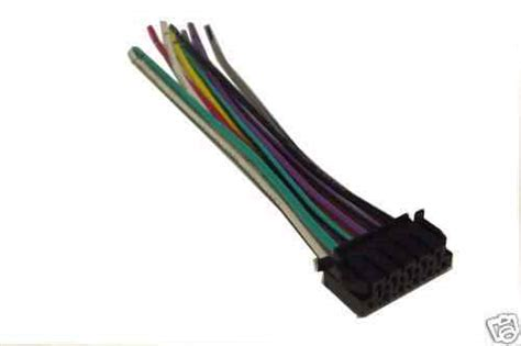 Jvc Wiring Harness Car Stereo Pin Wire Connector Ebay