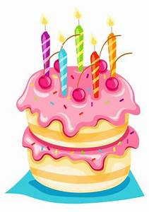 5th Birthday Cake Clipart (25+)